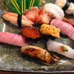 鮨処美好 - 特上寿司で3400円