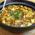 和香居 - 料理写真:麻婆豆腐(650円の方)