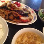 紅高粱 - 豚肉とナスの炒め物