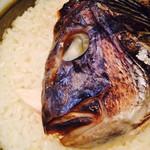 するり - 釜炊き鯛めし