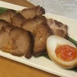 ライス共和国 - 叉焼と味付け玉子