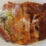 Clover - カツ丼カレー