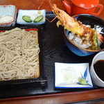 そばよし - 料理写真:もり&天丼セット