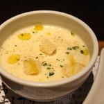 カフェ アロマ - 本日のスープ