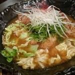 釜座二条 丸福 - 鶏とこんにゃく煮