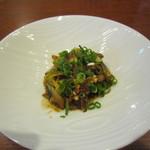 38533551 - 「蕎麦の実の葱味噌和え」
