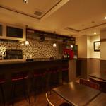 Kitchen AQUA - 店内 カウンター