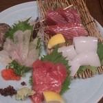 魚料理 沖の瀬 - 刺し盛