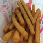 ピクニックコート - 料理写真:ふりふりポテト 160円