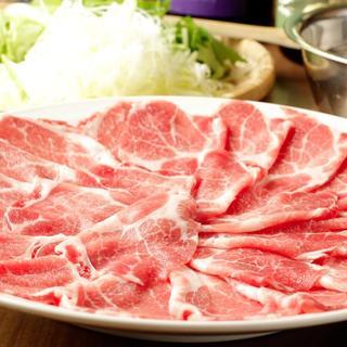 出汁薫るスペイン産イベリコ豚しゃぶしゃぶコース4,500円~