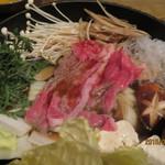 米澤牛DINING べこや - 調理中2