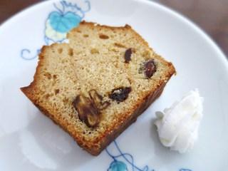 カフェ アリエ - キルシュ漬けドライフルーツのパウンドケーキ