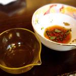 櫻井酒店 - 2015.5 豆冨にはポン酢でもオッケー(*^^*)合います