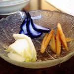 櫻井酒店 - 2015.5 お漬け物3種盛り