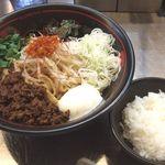 麺創研 紅 - 国分寺限定の混ぜそば800円