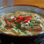 味のみやこ - 料理写真:宮古そば¥650-