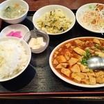 中国料理 興隆園 - 本格四川風麻婆豆腐700円♪