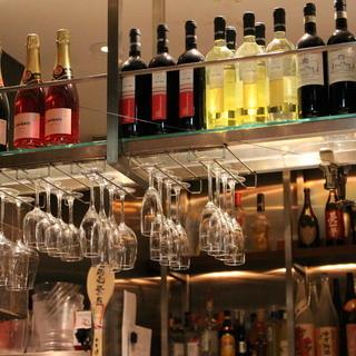 イタリアからの直輸入ワインが自慢♪