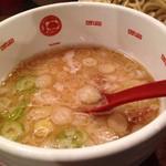 唐そば - つけ麺のつけ汁