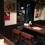 刀削麺園 - 1階:テ12席/カ6席