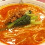 四川飯店 - 白ごま担担麺(汁あり)
