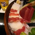 磯陣 - うねす くじら生ベーコン 1800円