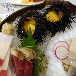磯陣 - 函館産 活むらさきウニ 1個 1000円