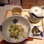 えん - 刻み菜漬けのぶぶ