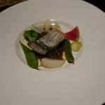 魯庵 - 2015.06 魚のソテー