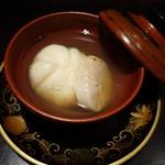 魯庵 - 2015.06 魚の真薯とホタテのブイヨン仕立て
