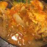 悠悠宴 - チゲ鍋アップ