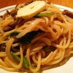 関谷スパゲティ - きのこバター