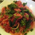 フィオーリア 新宿 アリアブル - 季節の野菜とアサリのぺペロンチーノ