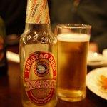 洪記料理 - チンタオビール(プレミアム)