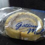 ガトーミエル - 黒ゴマのロールケーキ(お試し)