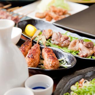 日本酒×焼鳥