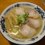 らーめん周 - チャーシュー麺 塩