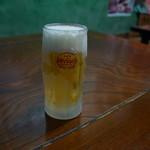 しこや - 生ビール
