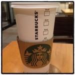 スターバックスコーヒー - ventiはやはりデカい! ドリップコーヒー432円。
