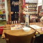 池袋駄菓子バー - 店内(テーブル席)
