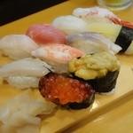 蝦夷寿司 - 料理写真:これが蝦夷前寿司だ!