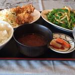 加藤大飯店 - 日替りランチ¥680(20150420)