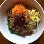 玄米食堂greengarden - ビビンバ丼