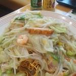 リンガーハット - 野菜たっぷり皿うどん