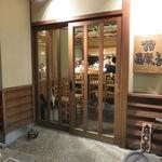 石臼挽き手打蕎楽亭 - 情緒ある神楽坂の一角に佇む、簡素だが雰囲気のある店