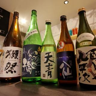 きき酒師が厳選した日本酒&前割り焼酎♪