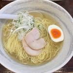 麺屋 廣島弐番 - 塩らーめん大650円