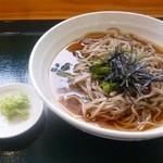 穂高駅前そば - 料理写真: