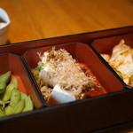ぱいぱいのむら - ビールセットの料理