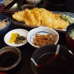 一魚一栄 - 新鮮な魚!今回は天ぷらを